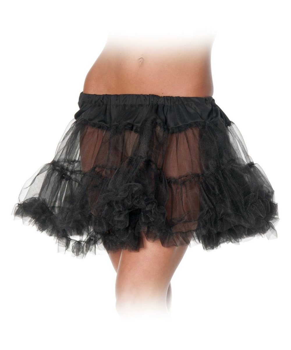 Black Petticoat Tutu Skirt