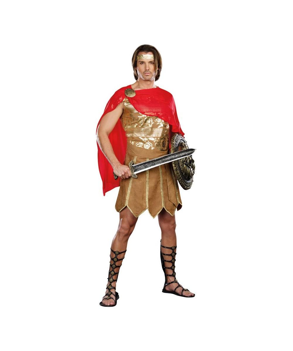 Adult Ceasar Halloween Costume Men Costumes