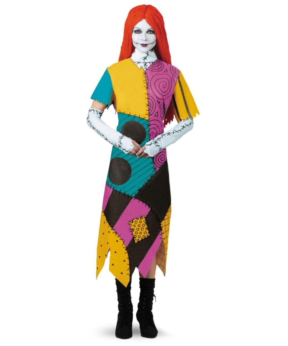 Christmas Sally Women plus size Costume