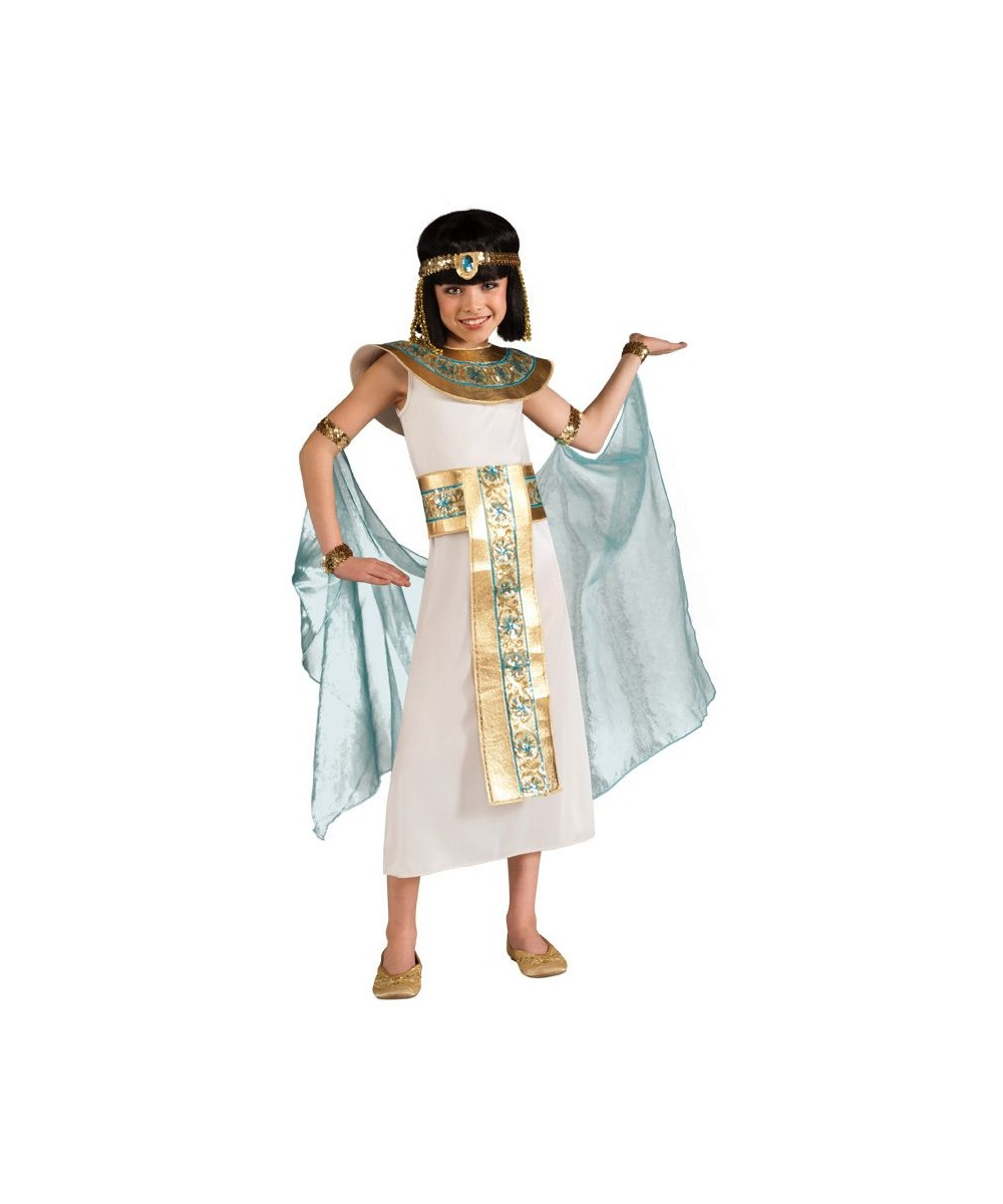 Classic Cleopatra Girls Halloween Costume  sc 1 st  Halloween Costumes & Cleopatra Kids Egyptian Costume - Egyptian Girl Costumes