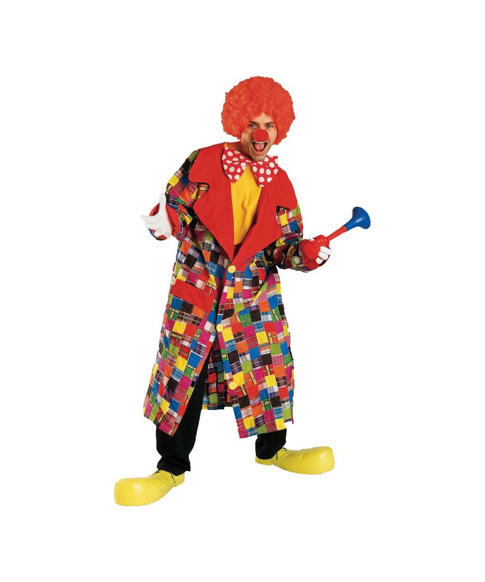 sc 1 st  Wonder Costumes & Clown Patches Adult Costume - Men Clown Costumes