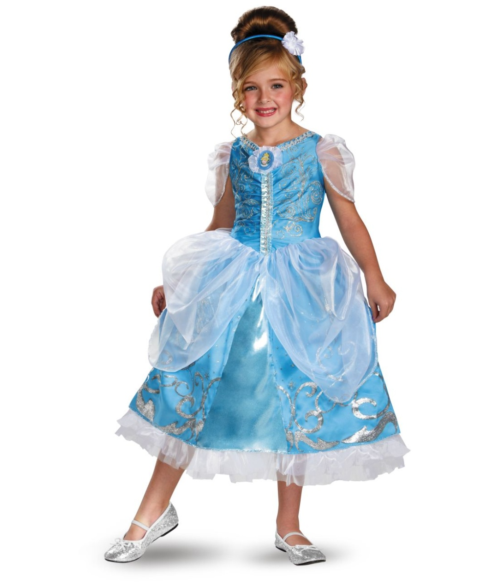 Cinderella Sparkle Disney Girls Costume deluxe  sc 1 st  Halloween Costumes & Fairy Godmother Baby Girls Costume - Disney Costumes