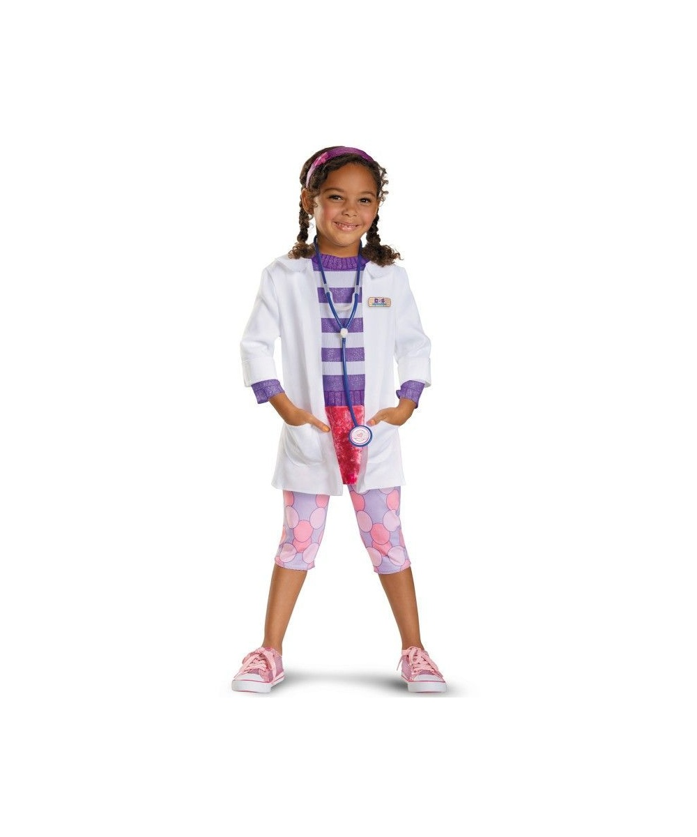 Disney Doc Mcstuffins Girls Costume