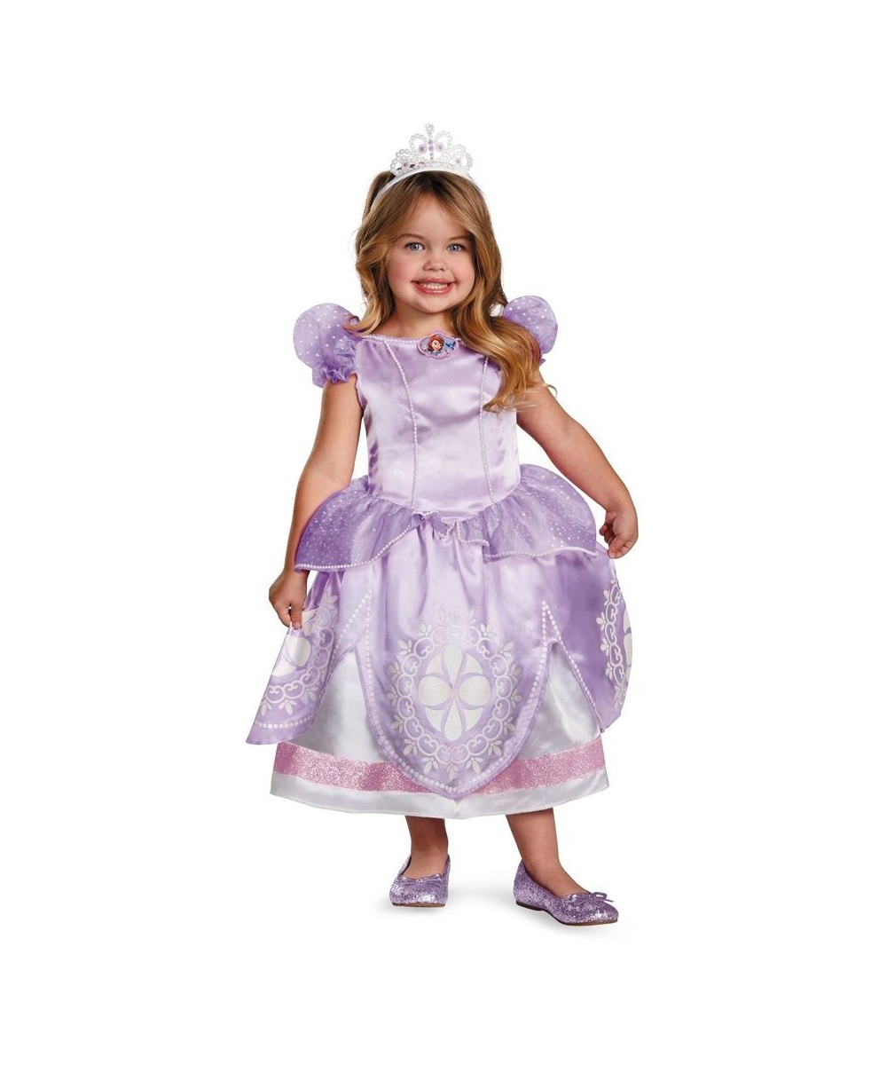sc 1 st  Wonder Costumes & Disney Sofia First Baby Costume - Girl Disney Costumes