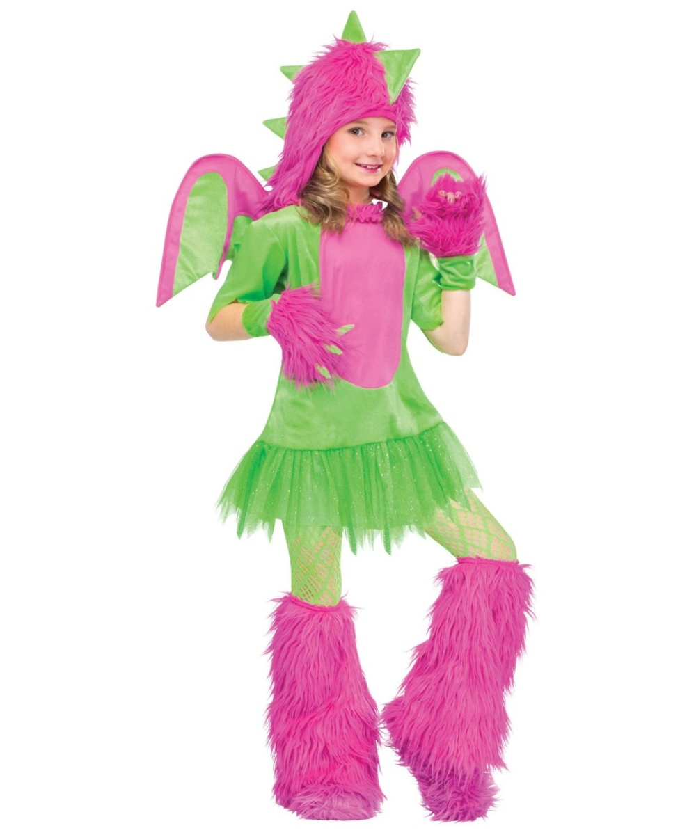 Dragon unique girls costume girl halloween costumes for Cool halloween costumes for kids girls