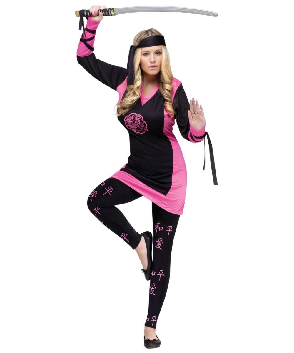 Dragon Women Ninja Costume  sc 1 st  Wonder Costumes & Dragon Ninja Adult Costume - Women Halloween Costumes