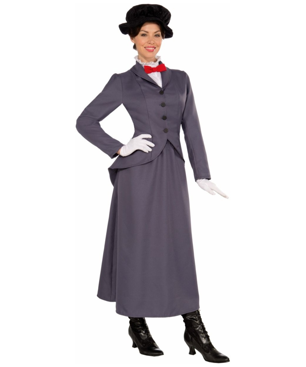 sc 1 st  Wonder Costumes & Adult English Nanny Halloween Costume - Mary Poppins Costume