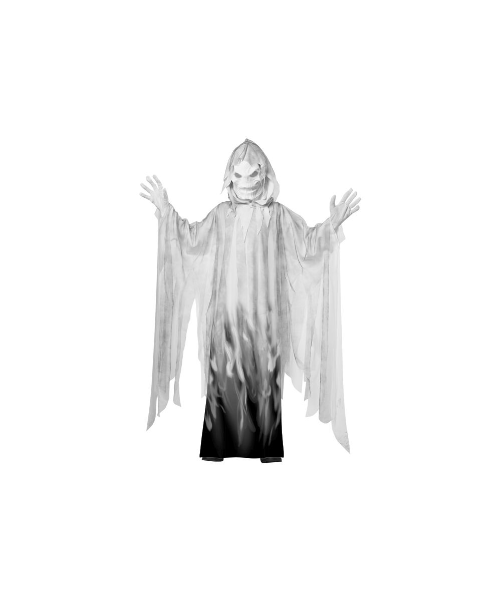 Evil Spirit Boys Costume  sc 1 st  Wonder Costumes & Ghost Evil Spirit Kids Costume - Ghost Halloween Costumes