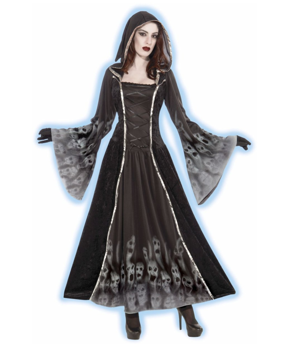Adult Forsaken Souls Ghost Halloween Costume - Scary Costumes 426adc573