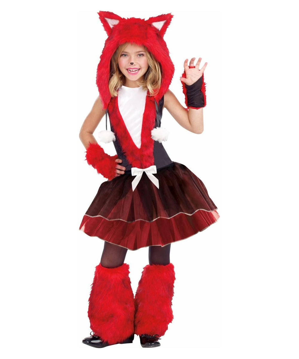 sc 1 st  Wonder Costumes & Foxy And Sly Kids Halloween Costume - Fox Animal Costume for Girls