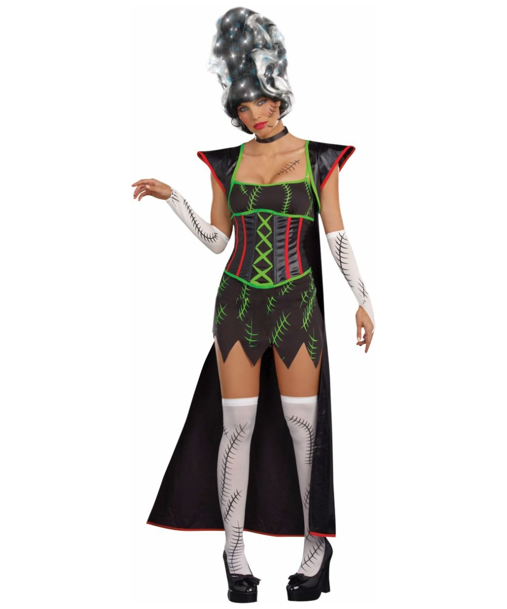 Adult deluxe monster bride costume