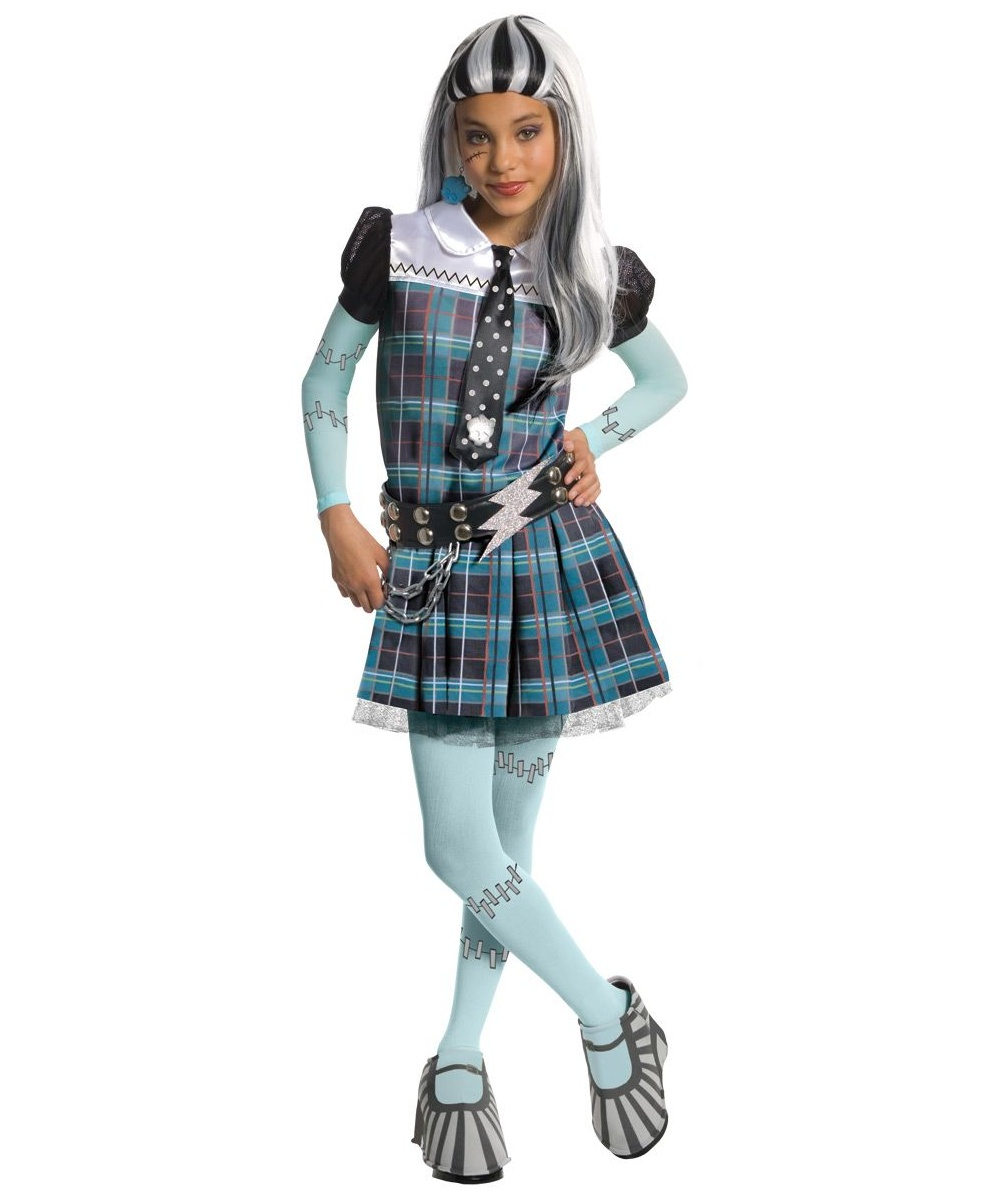 Frankie Stein Girls Costume