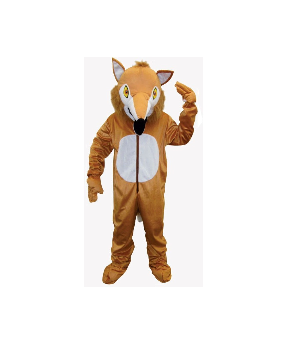 Adult Furry Fox Mascot Halloween Costume - Animal Costumes
