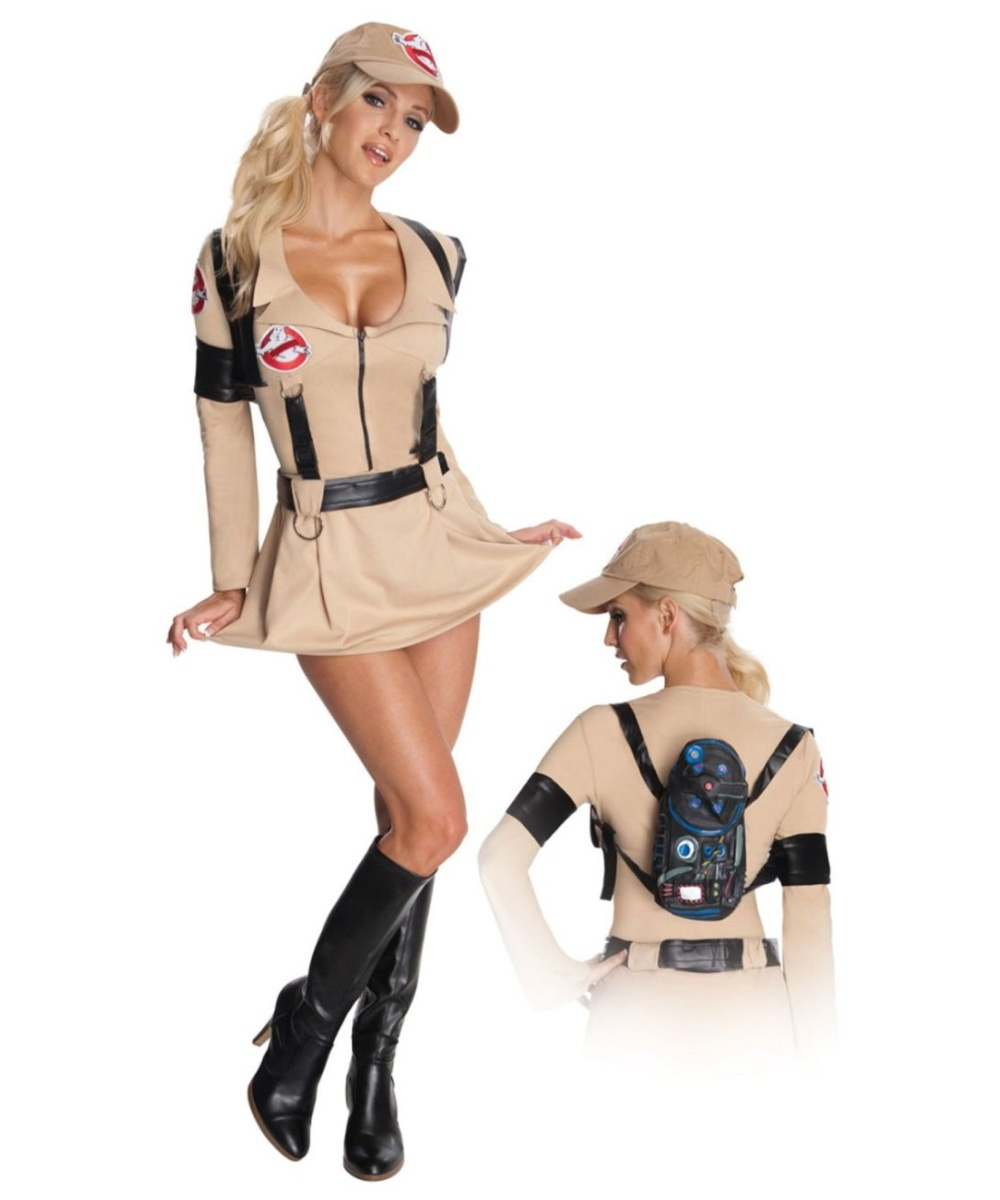 Sexy Ghostbusters Halloween Adult Costume