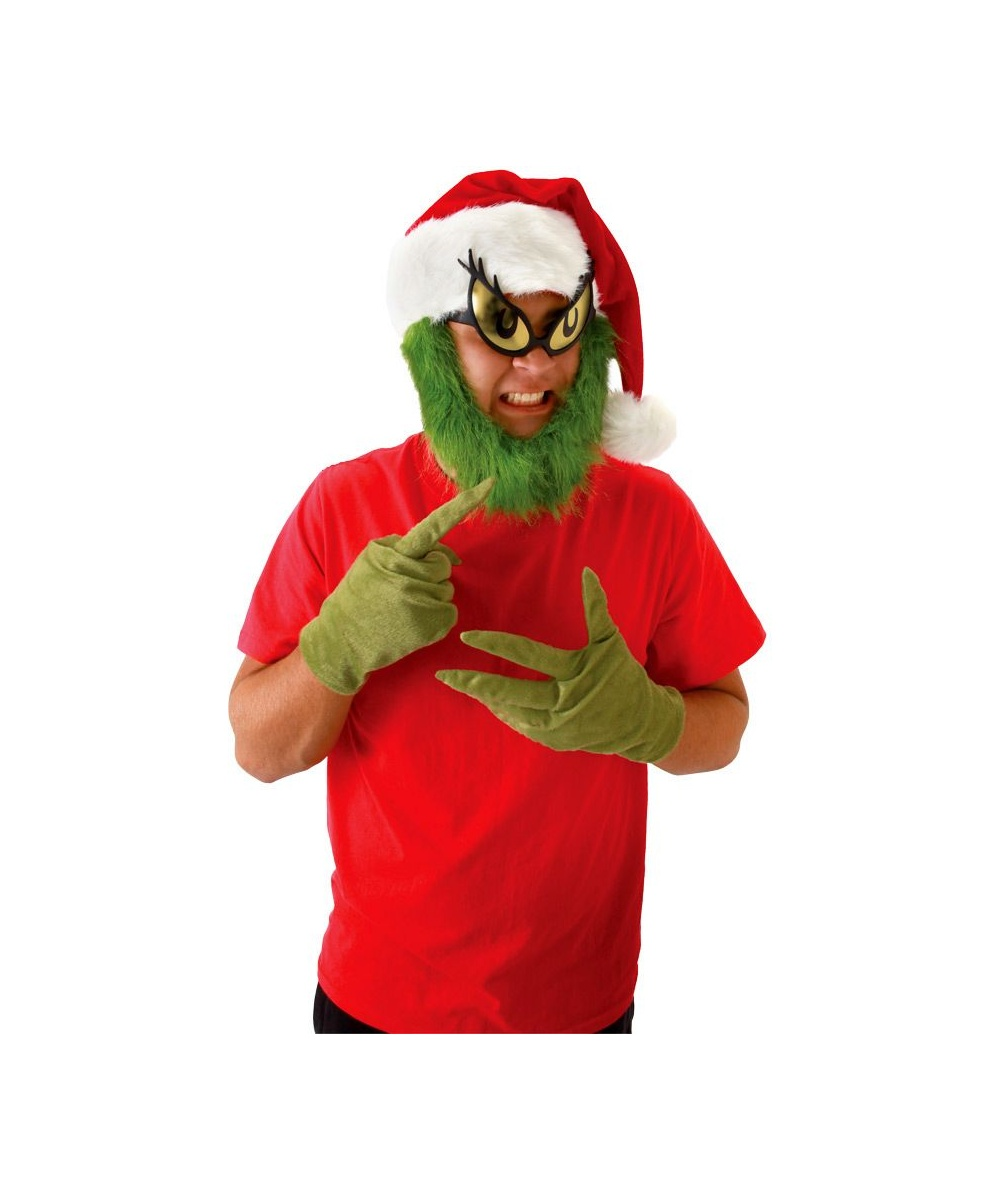 Grinch Hat Beard Kit
