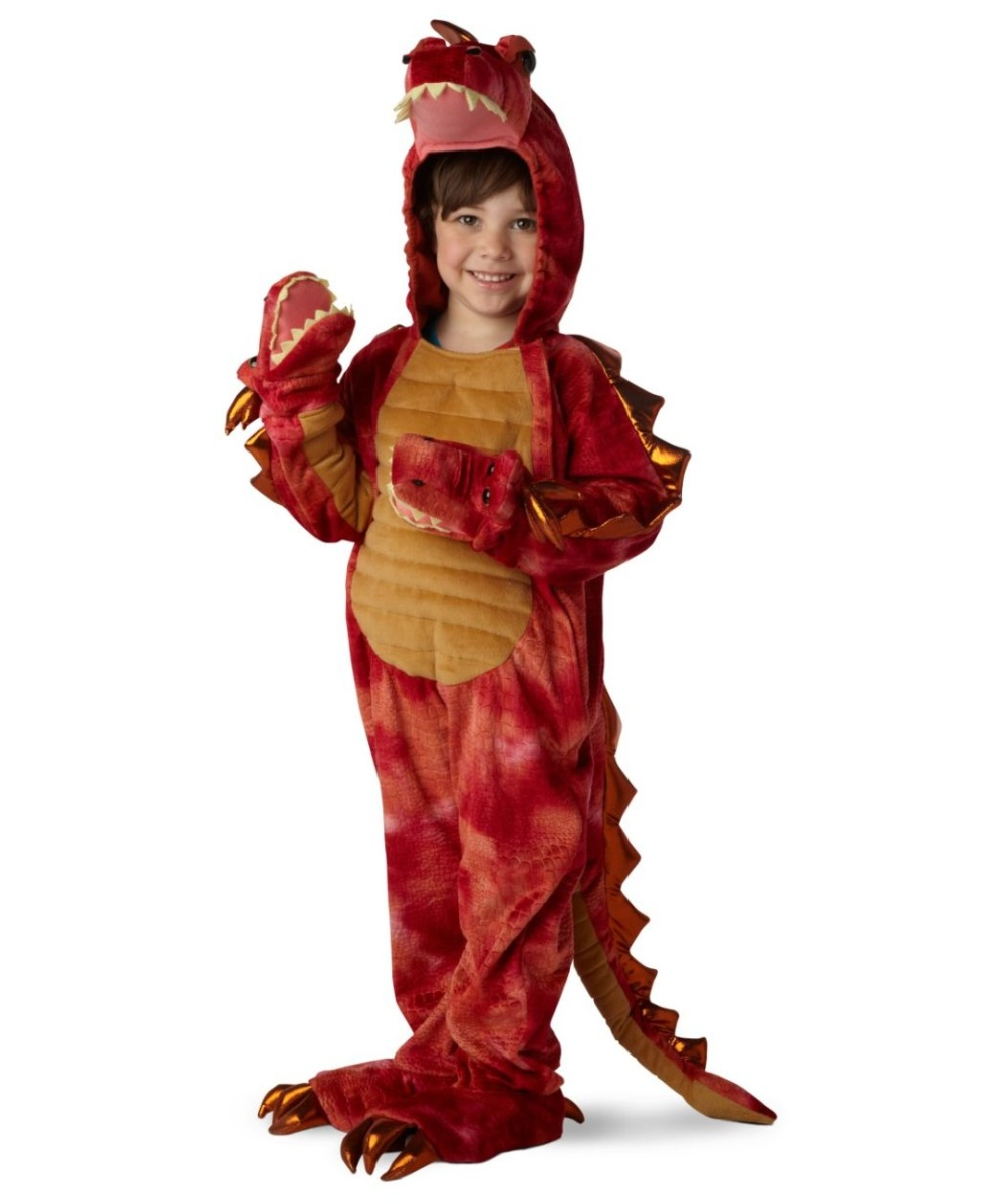 Headed Dragon Boys Costume