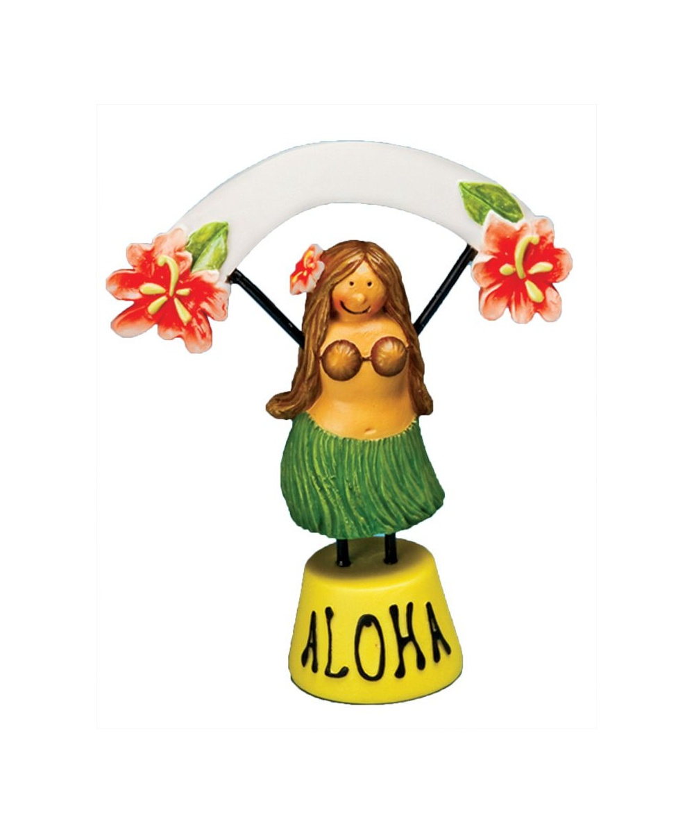 Hula Girl Food Place Setter