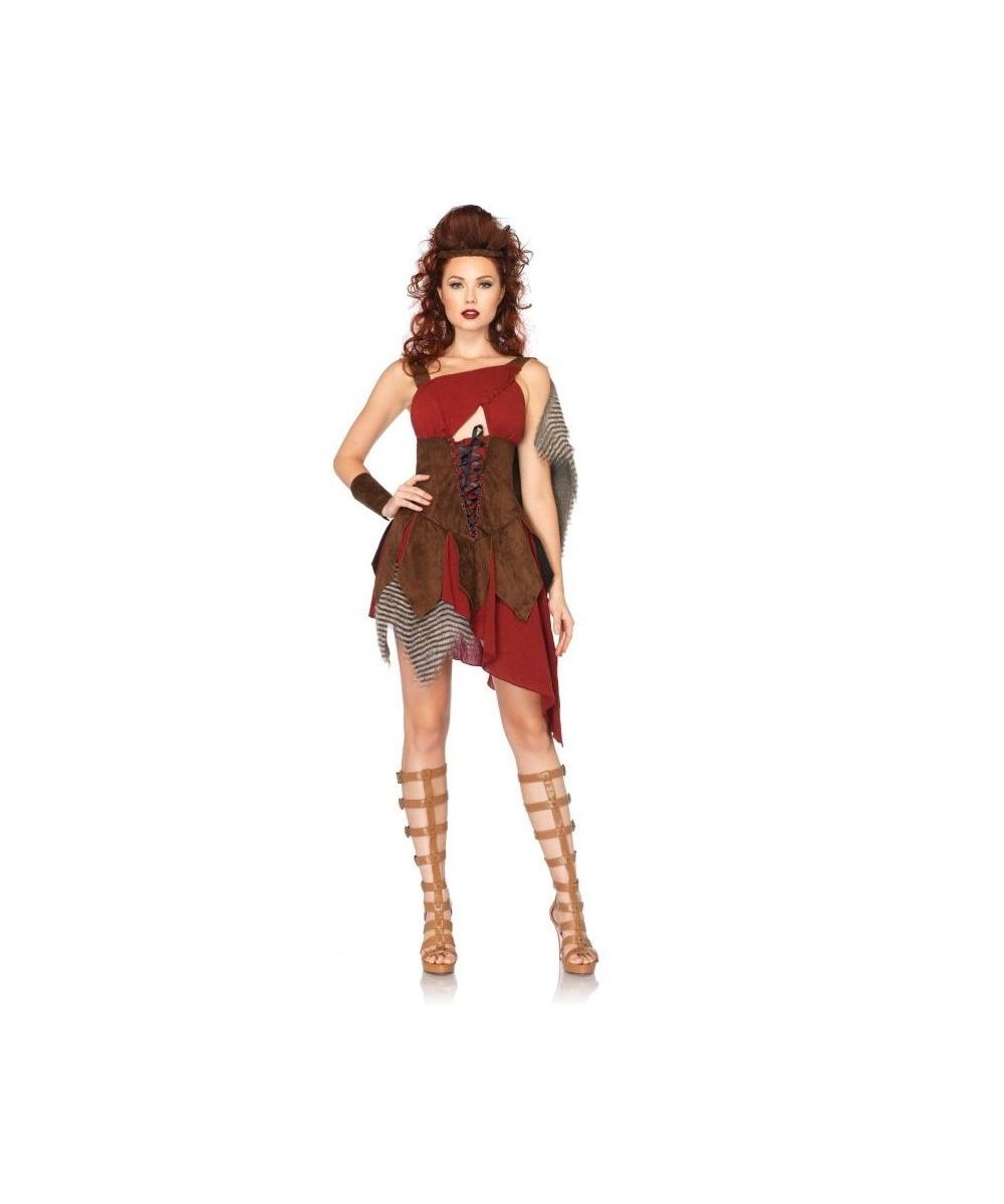 adult deadly huntress costume - women costume