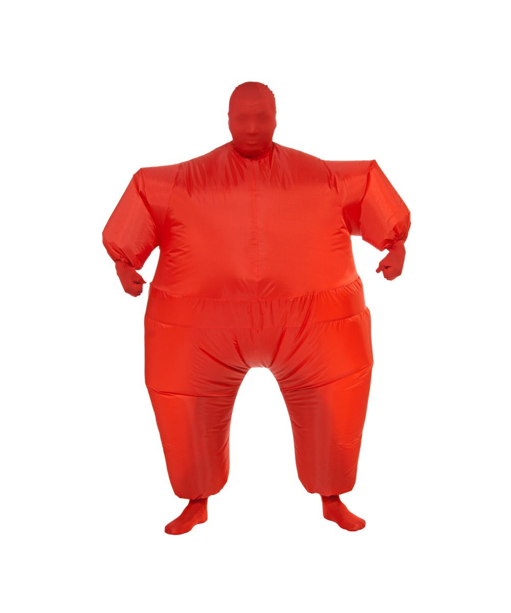 Inflatable Adult Costume Red