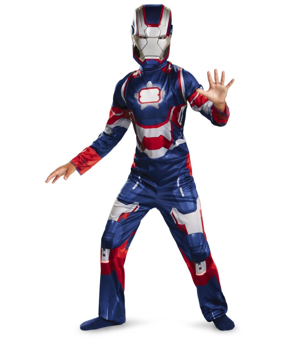 iron patriot kids costume boy movie costumes. Black Bedroom Furniture Sets. Home Design Ideas
