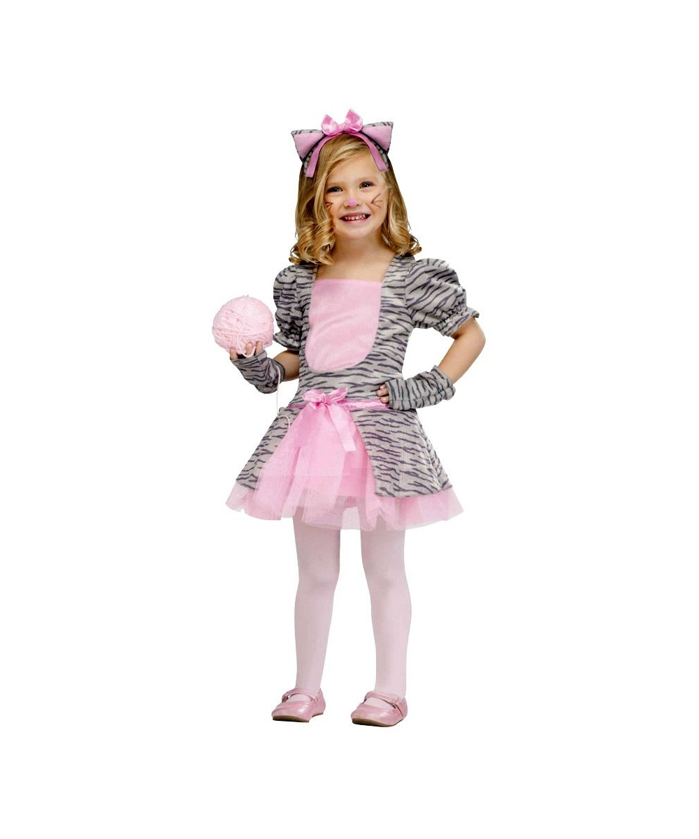 sc 1 st  Wonder Costumes & Grey Kitten Kids Halloween Costume - Girls Costumes