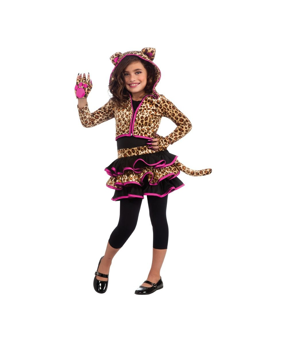 leopard kids costume - girl leopard costumes
