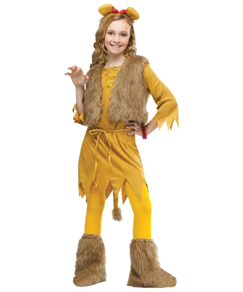 sc 1 st  Wonder Costumes & Lion Kids Costume - Girl Lion Costumes