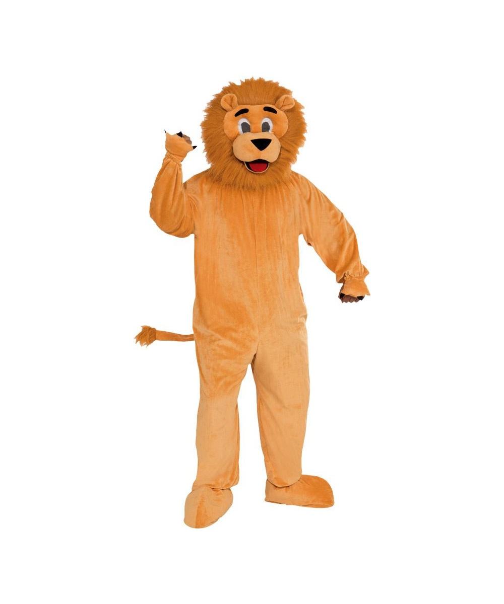 sc 1 st  Wonder Costumes & Lion Mascot Suit Adult Costume - Lion Costumes