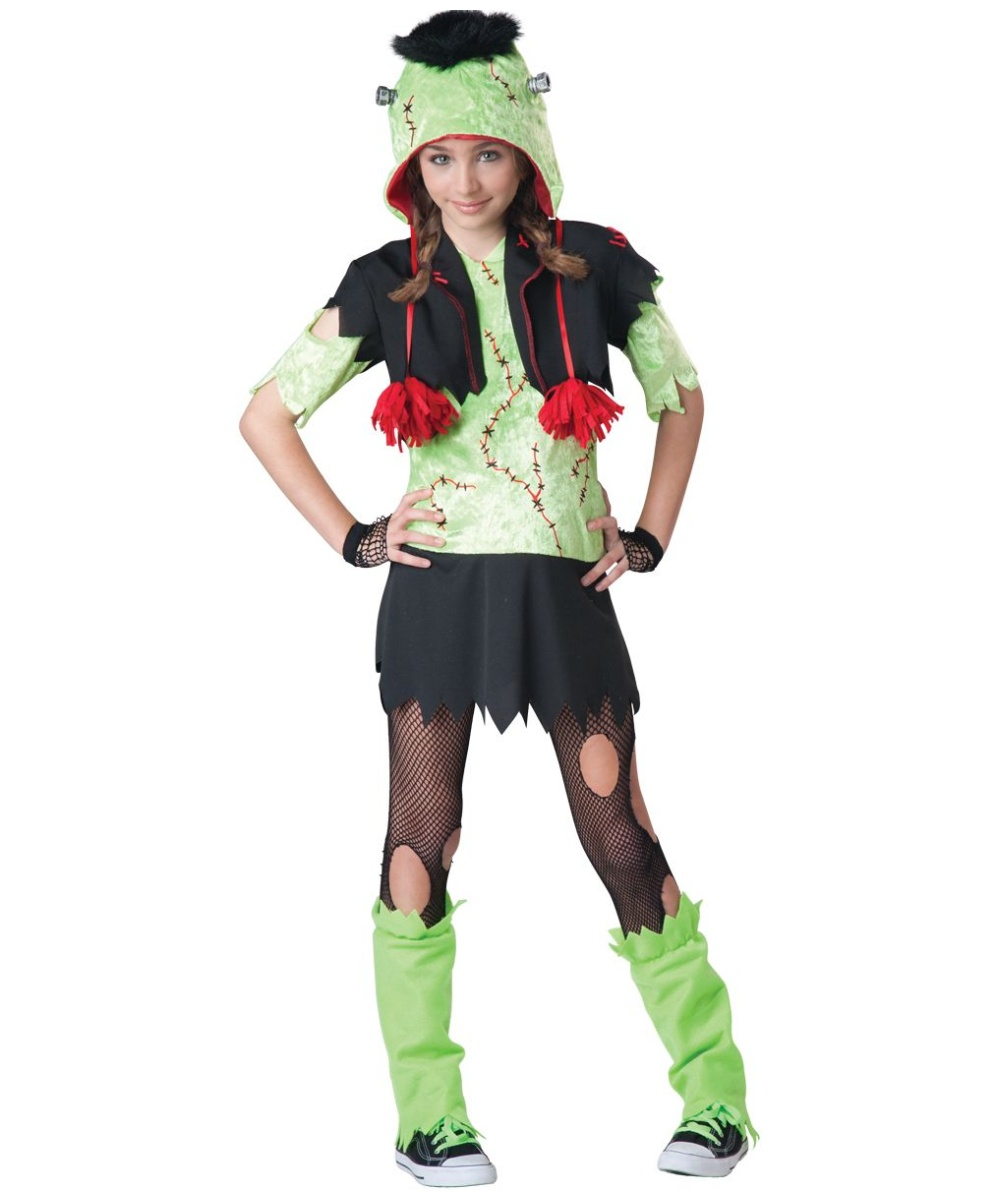 sc 1 st  Wonder Costumes & Monster Girl Teen Halloween Costume - Girls Costumes