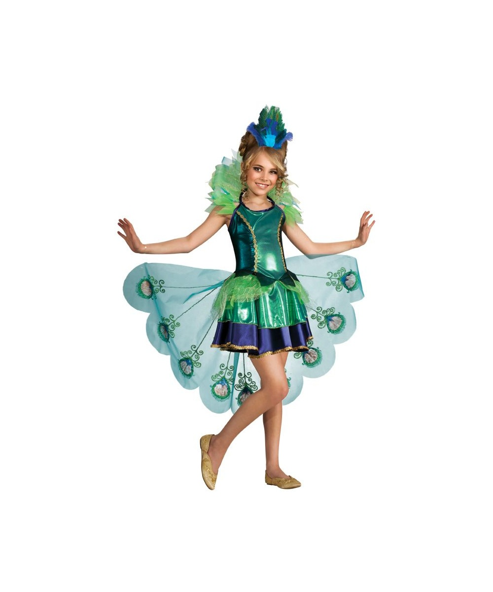Girl Peacock Costumes