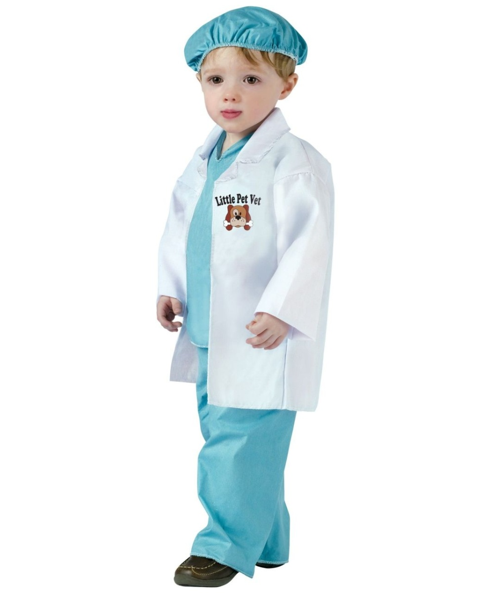 sc 1 st  Halloween Costumes & LITTLE PET VET TODDLER COSTUME