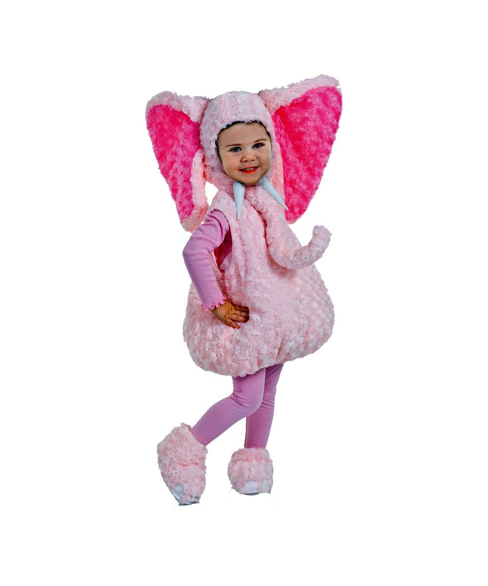 Pink Elephant Baby Costume  sc 1 st  Wonder Costumes & Pink Elephant Baby Halloween Costume - Girls Costumes