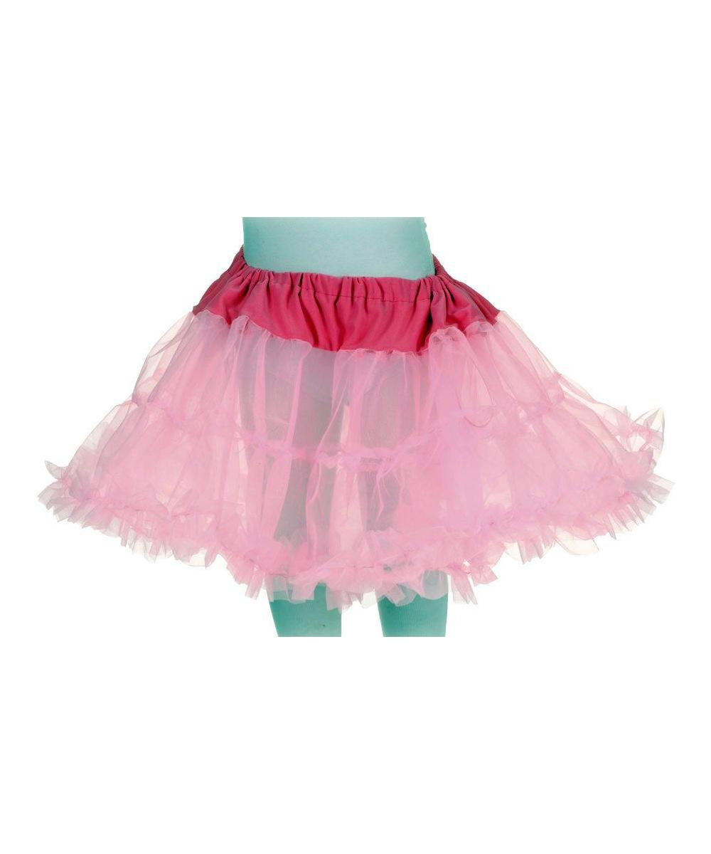 Bubble Gum Pink Kids Tutu Skirt Girls Costume