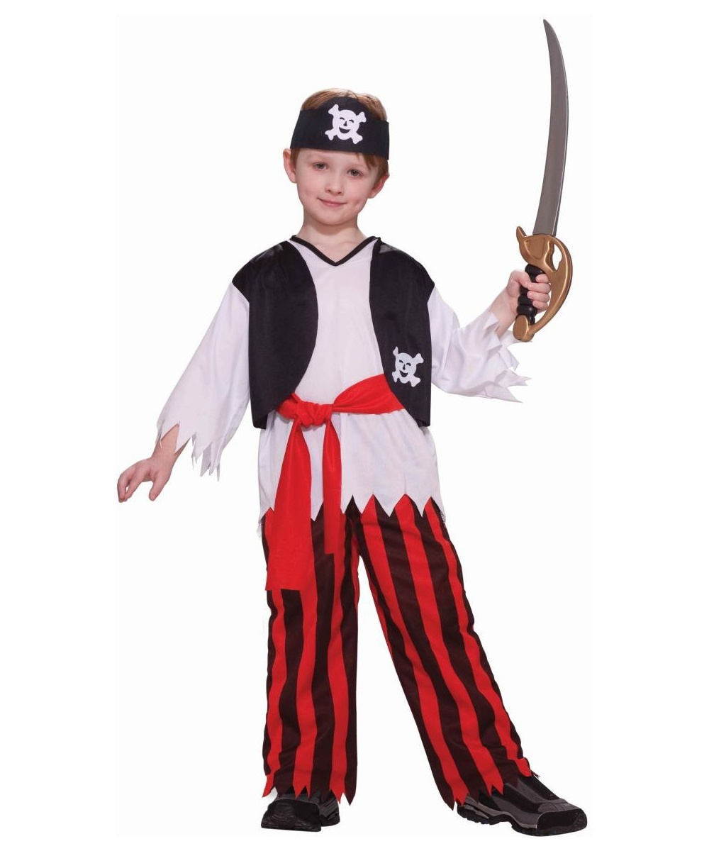 pirate boys costume
