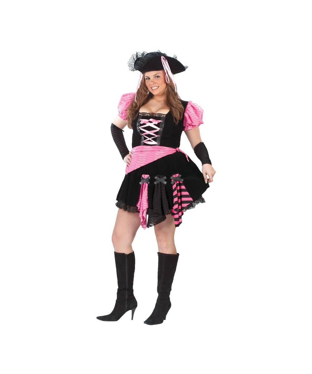 Pirate plus Women Costume
