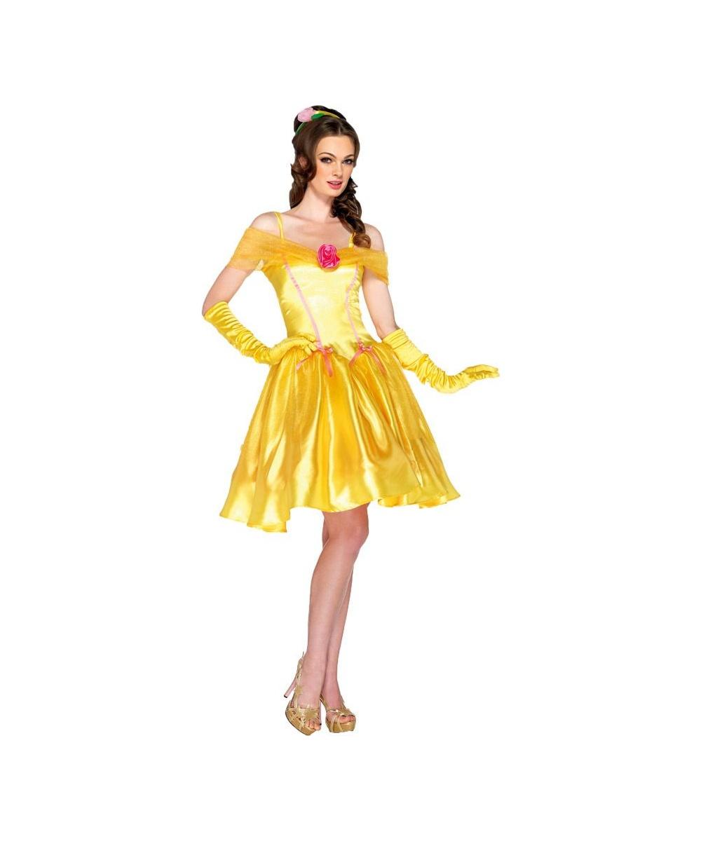 Belle Disney Princess Adult Costume Women Princess Costumes