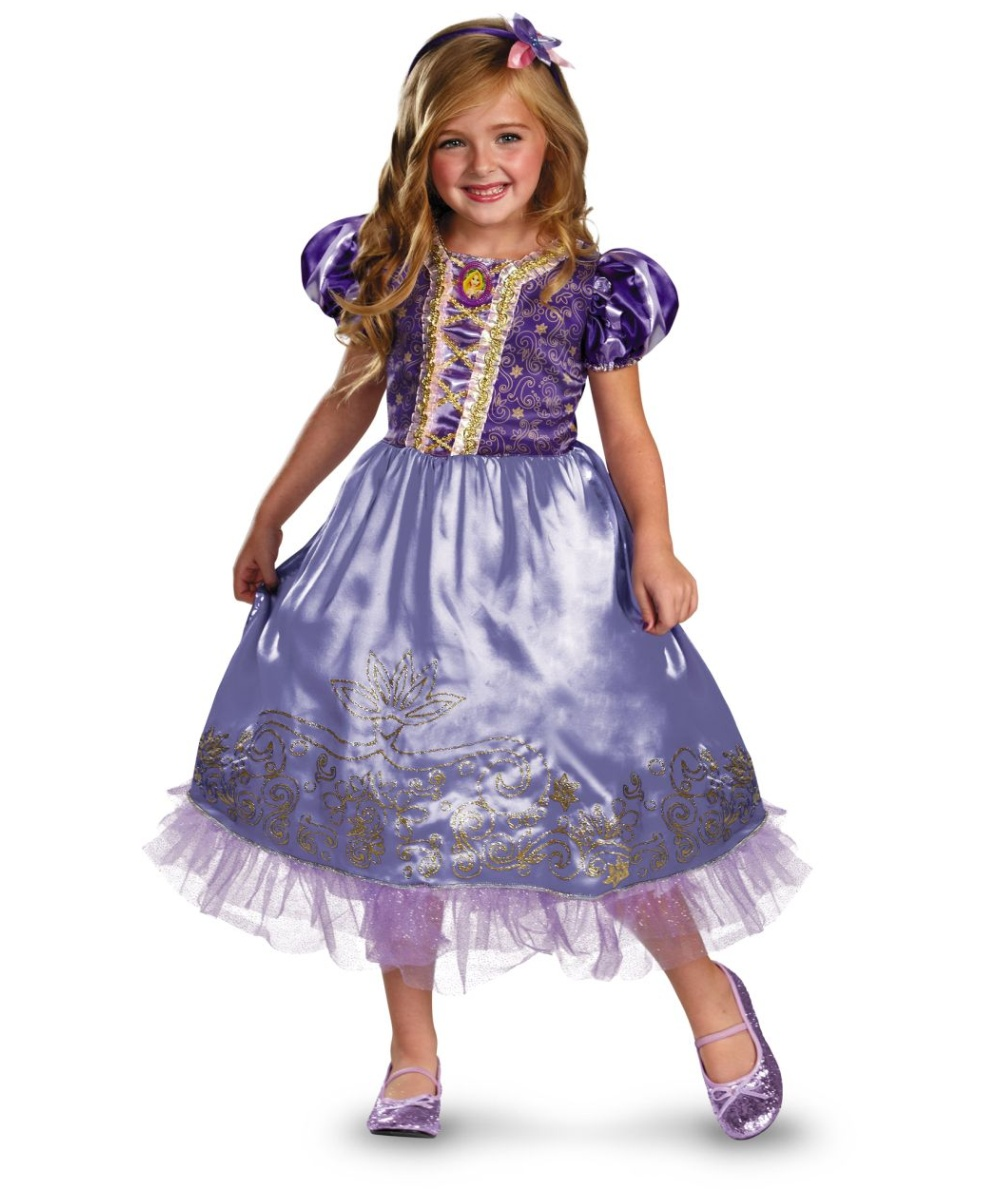 Rapunzel Disney Girls Costume