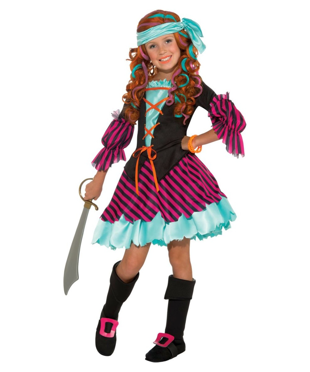 Salty taffy kids pirate halloween costume pirate costumes for Cool halloween costumes for kids girls