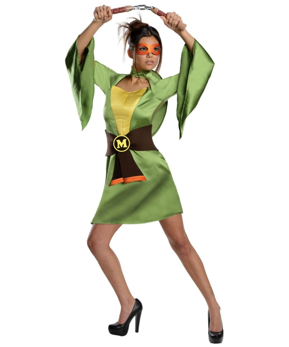 Ninja Turtles Sexy Michelangelo Women Costume