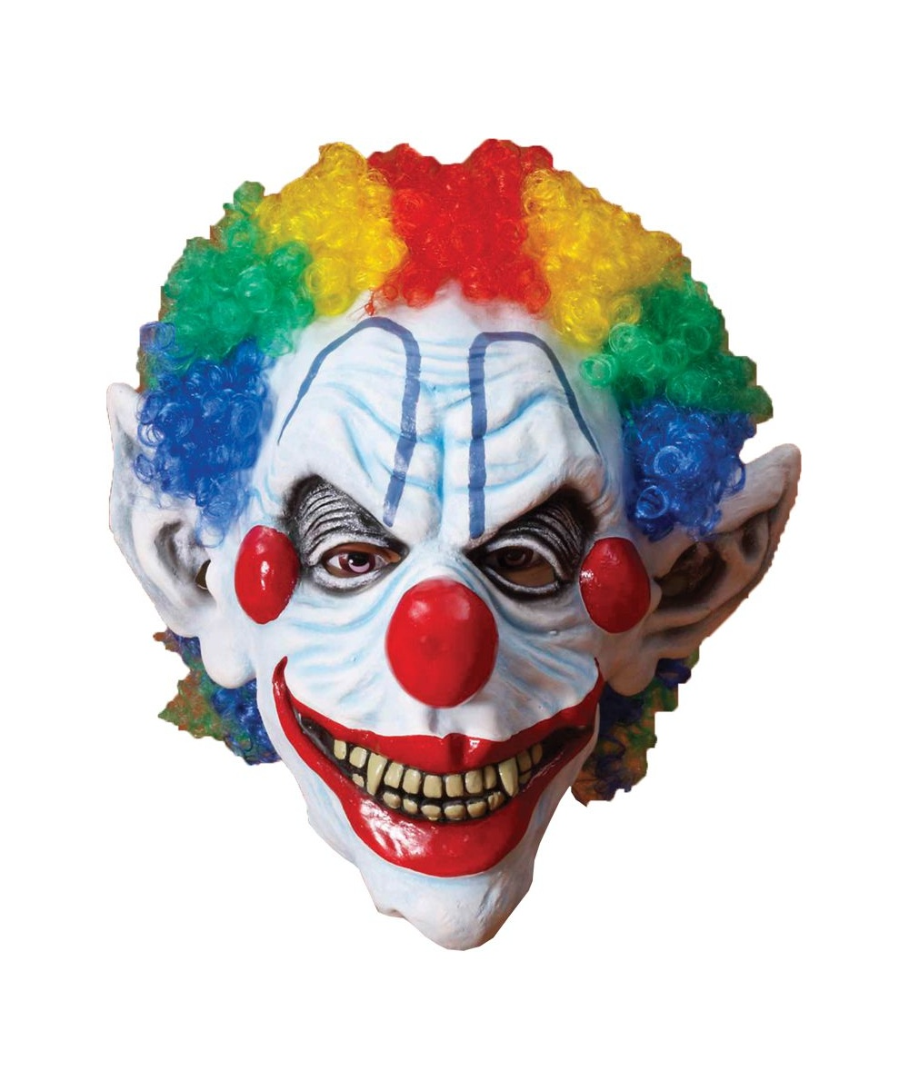 Adult Sinister Clown Mask Halloween Costume Mask