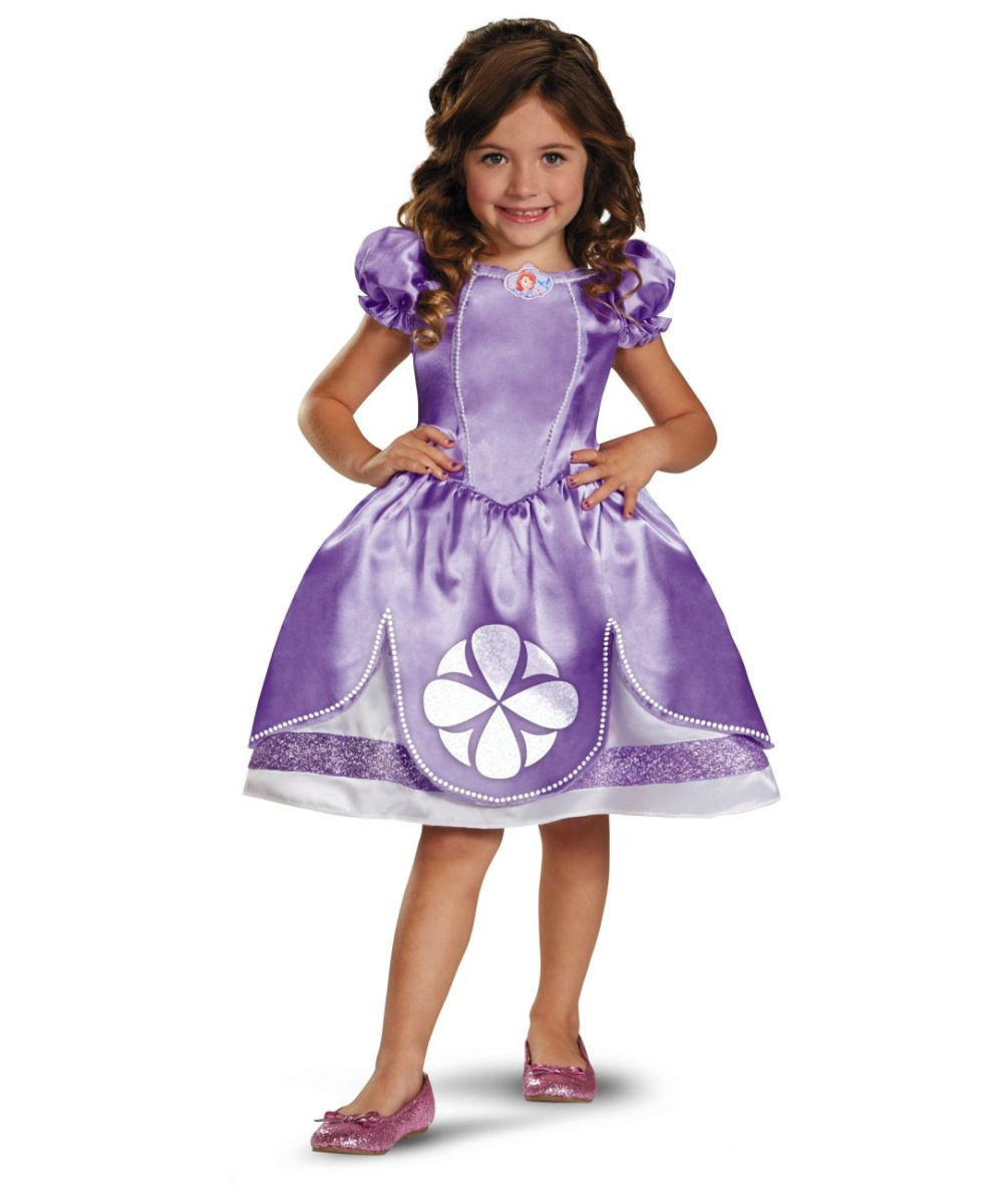 sc 1 st  Wonder Costumes & Sofia the First Princess Costume for Kids - Baby Disney Costumes