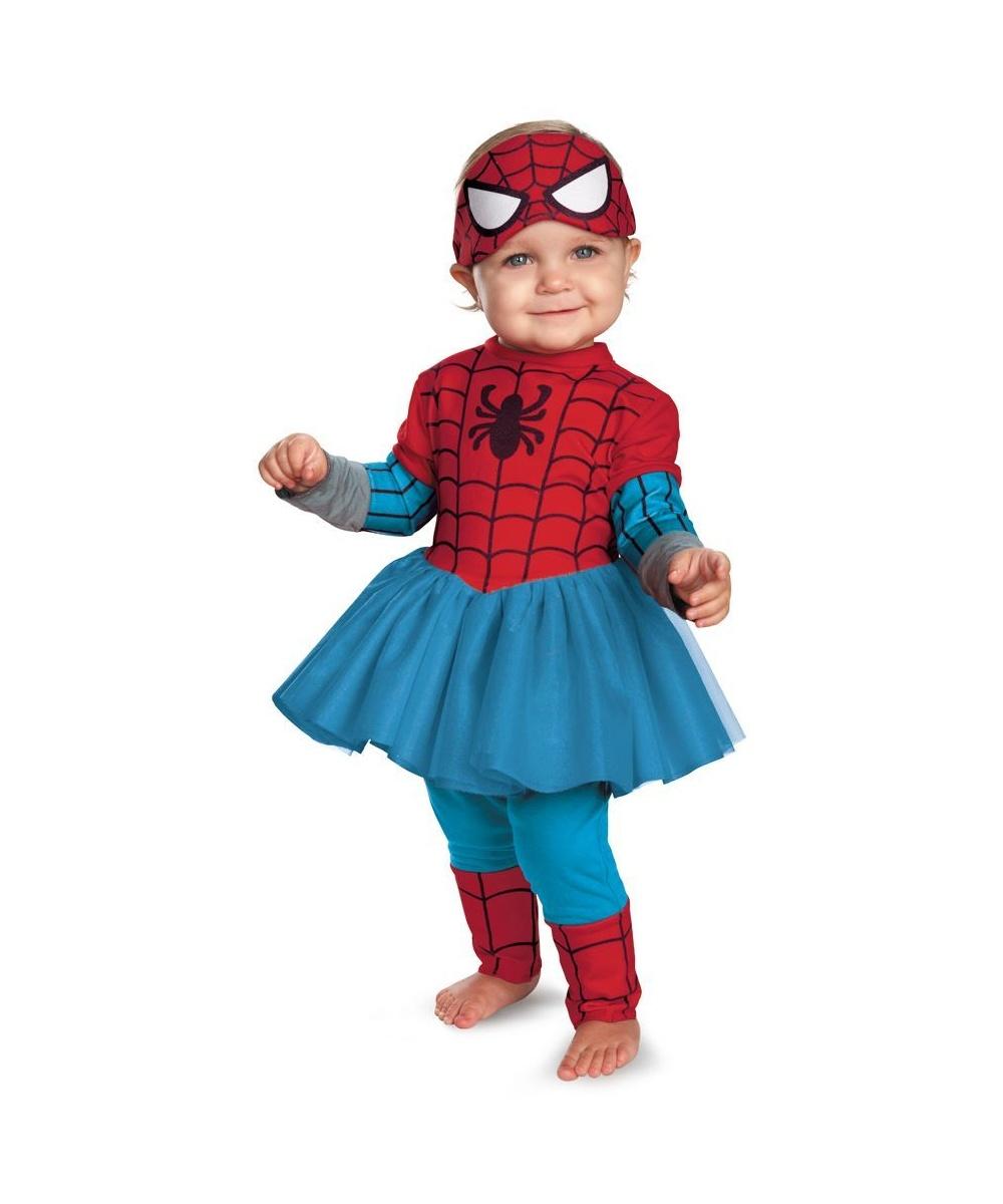 sc 1 st  Wonder Costumes & Spider Girl Kutie Baby Movie Halloween Costume - Girls Costumes