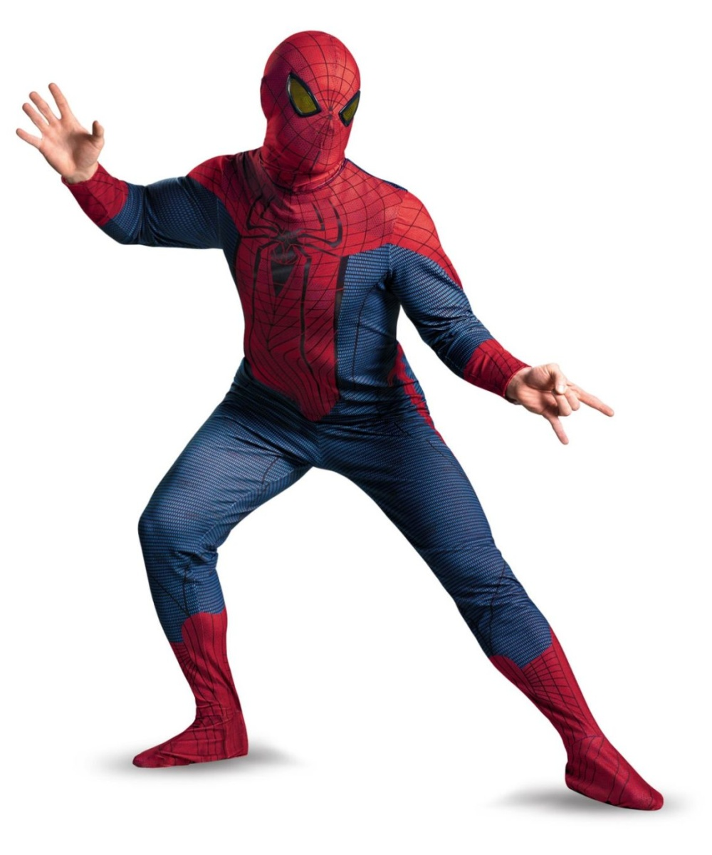 Spider Man Movie Men plus Costume