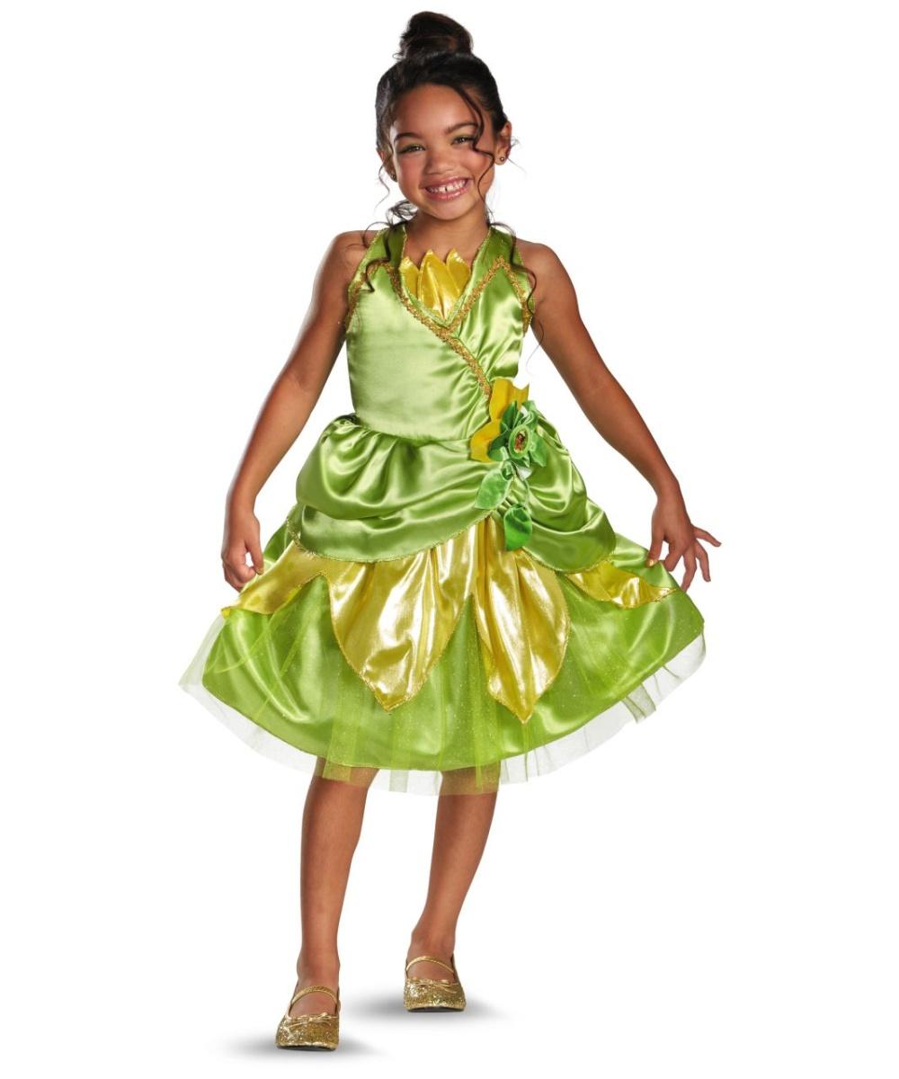 Princess Tiana Outfit: Tiana Sparkle Kids Disney Costume