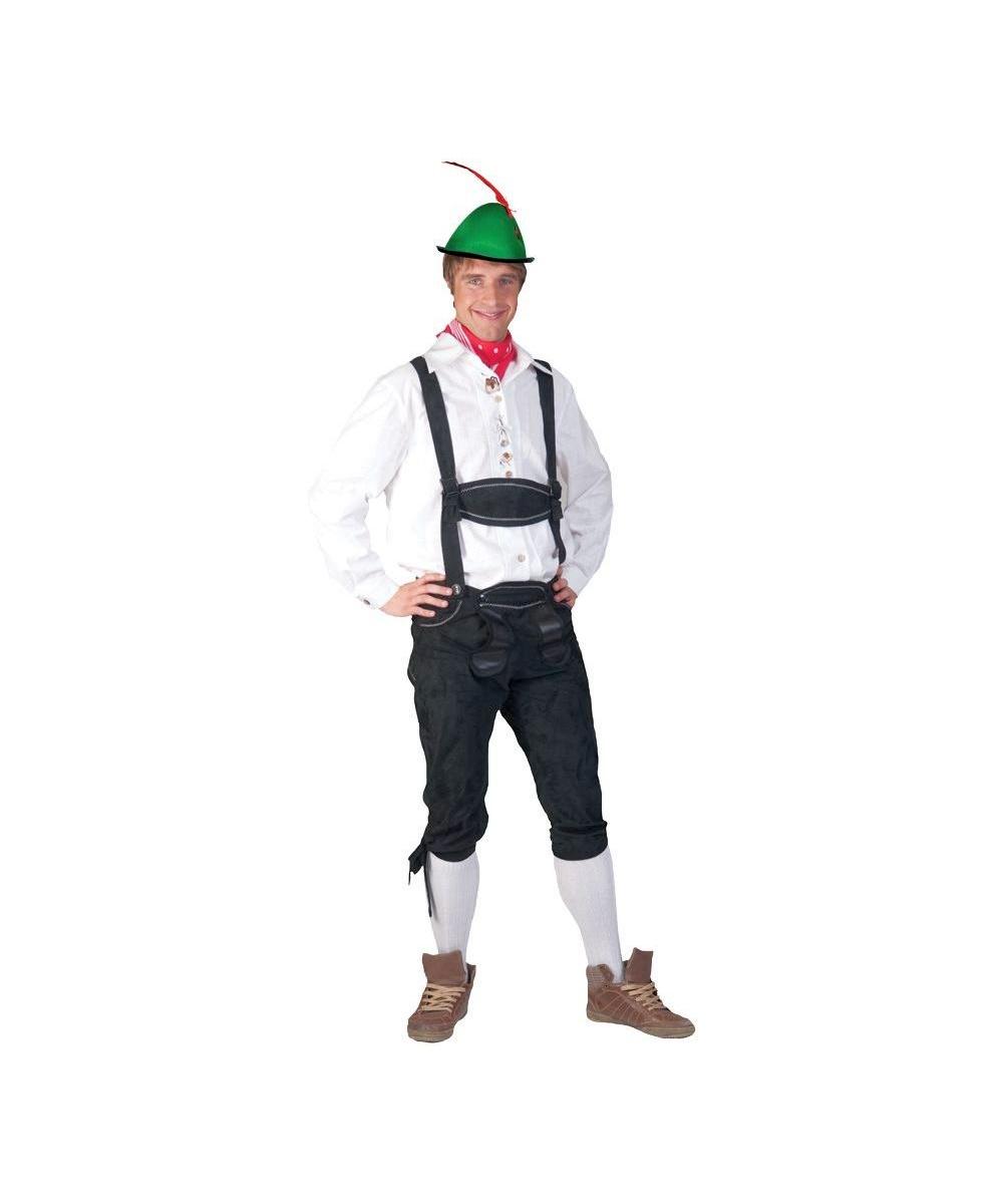 Adult Tyrolean Shirt Halloween Costume Men Costumes