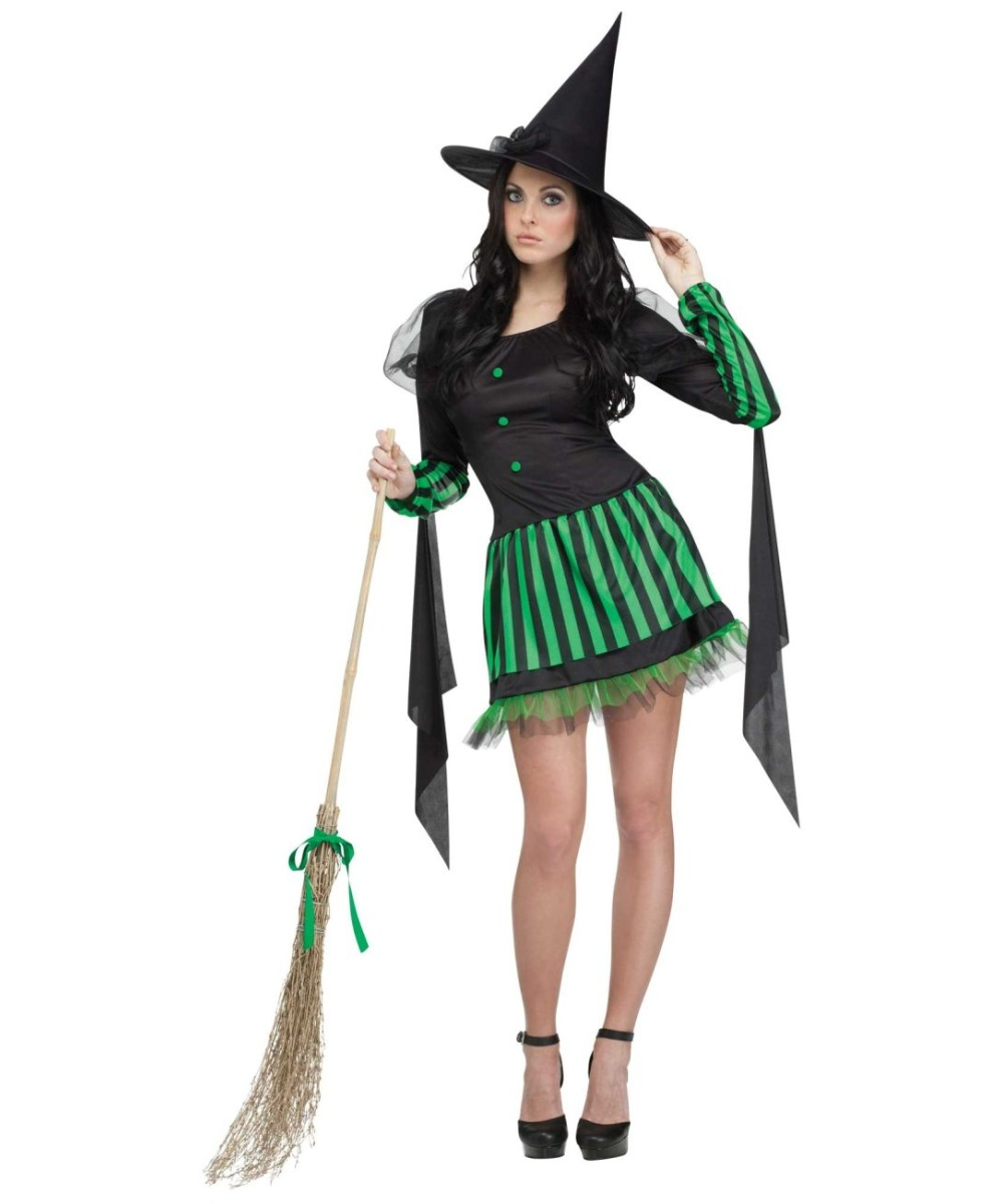Sexy wicked witch of the west makeup