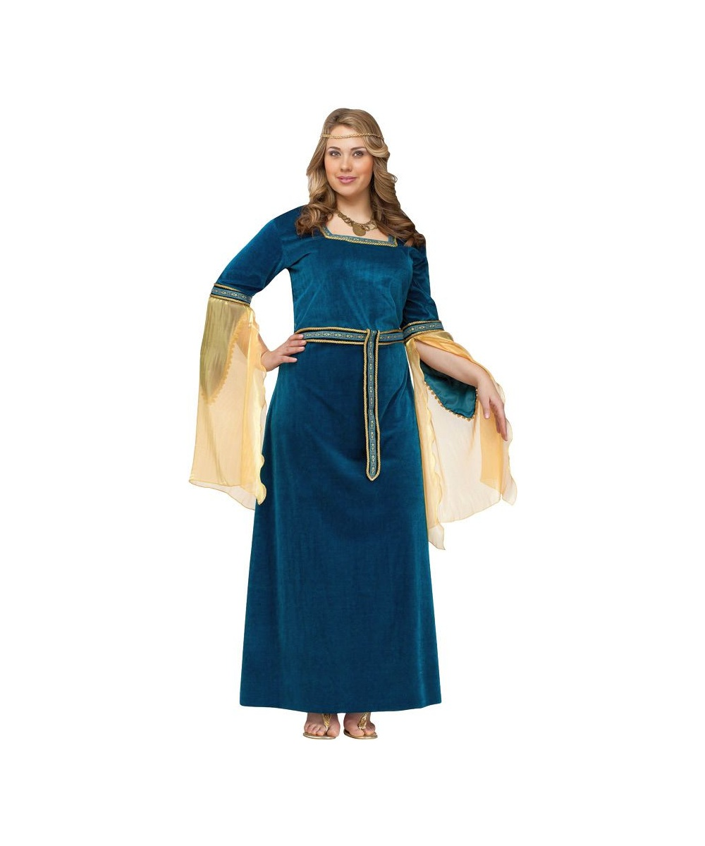 Adult Renaissance Princess Plus Size Costume Women Costume