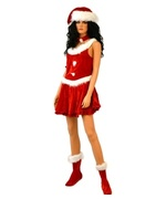 e446d5f91df PrevNext. Costumes →  Adult Costumes →  Women Costumes →  Iridescent  Sparkle Santa Womens Hat