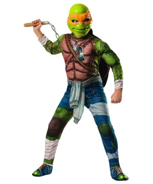Kids Ninja Turtles Michelangelo Costume