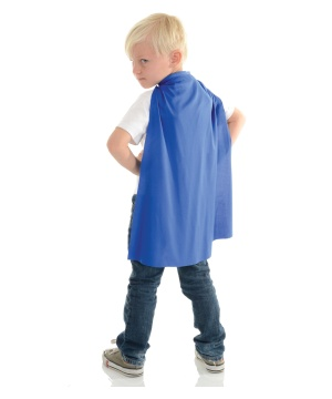 Blue Kids Cape